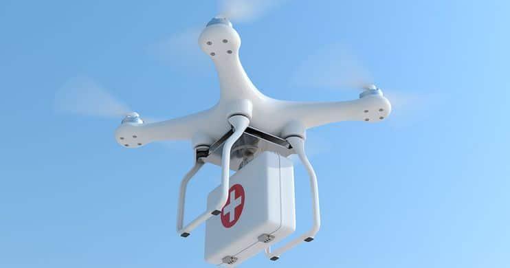 drones healthcare