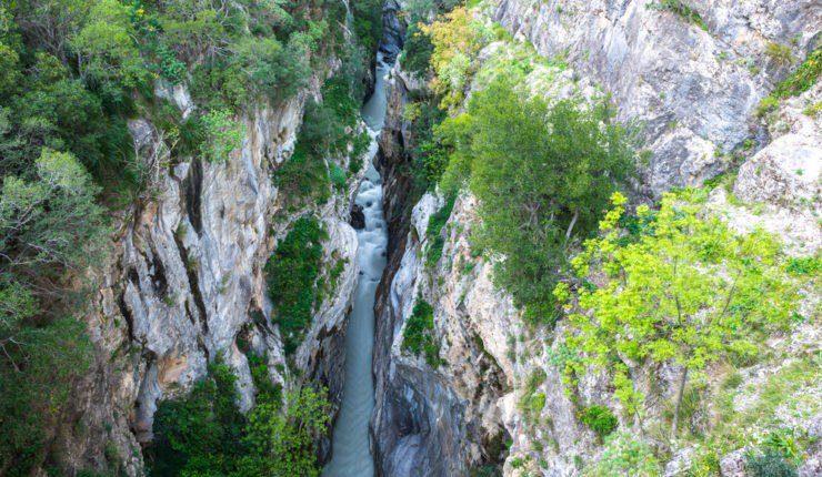 I Canyon del parco del Pollino