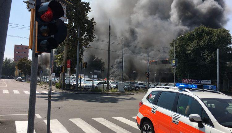 Incendio Peugeot 2