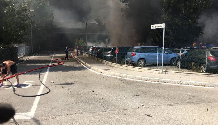 Incendio Peugeot 3