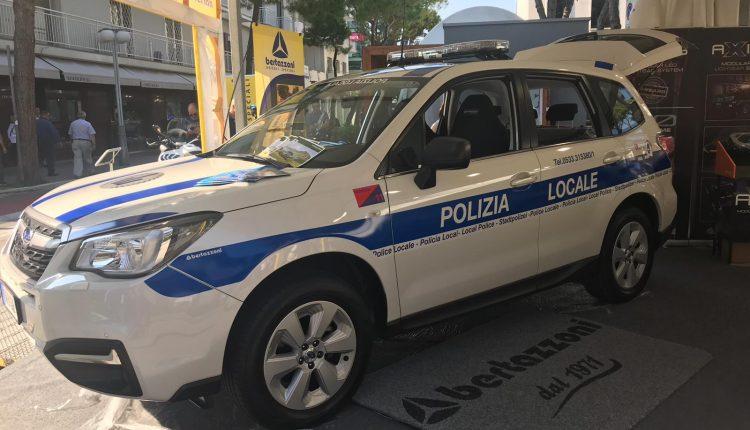 Bertazzoni polizia locale riccione 2018