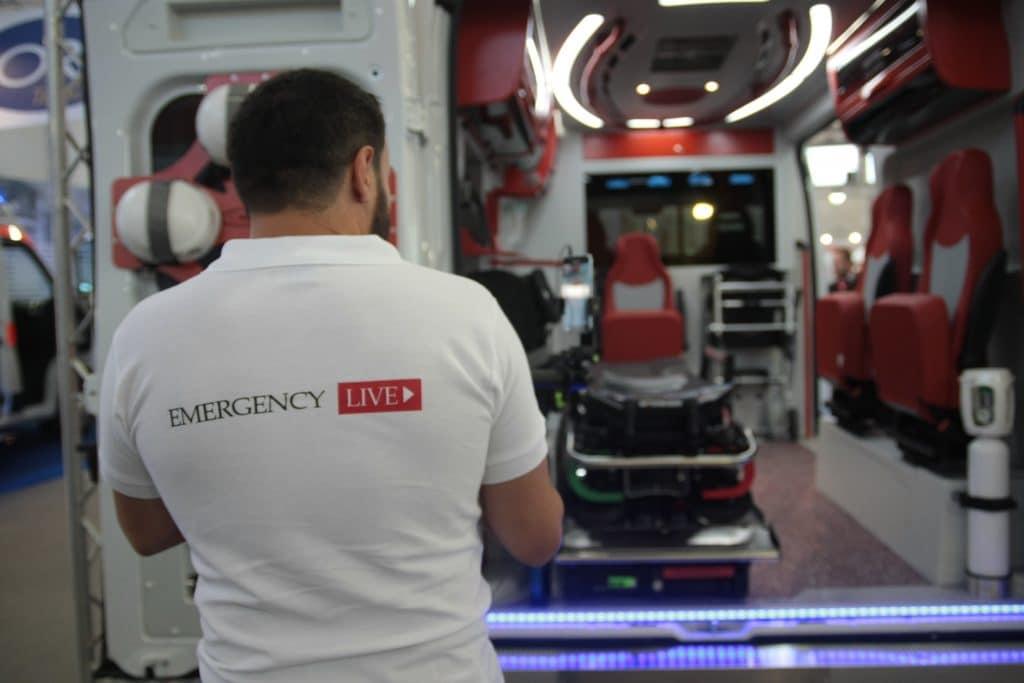 Ambulanze, cosa c'è stato di veramente nuovo a REAS? | Emergency Live 9