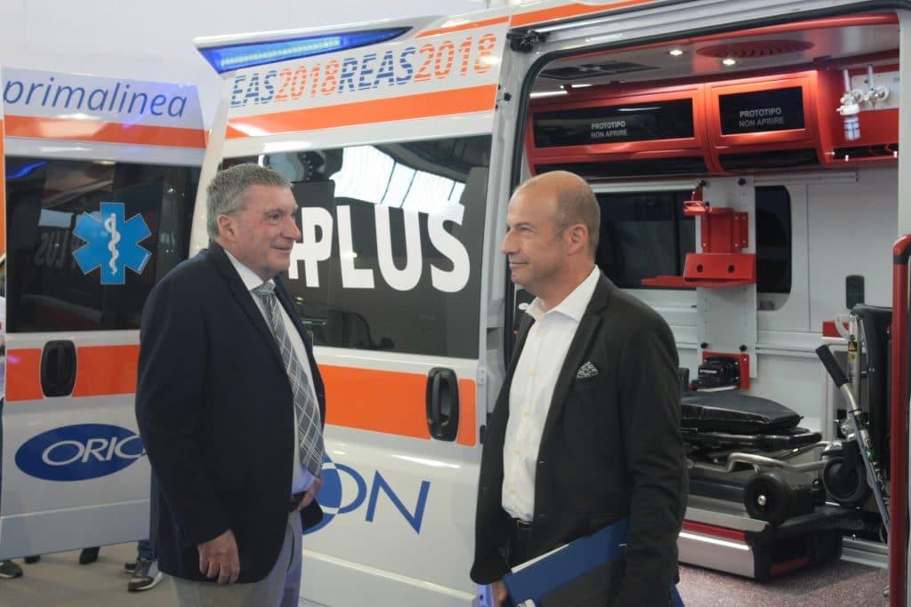 Ambulanze, cosa c'è stato di veramente nuovo a REAS? | Emergency Live 15