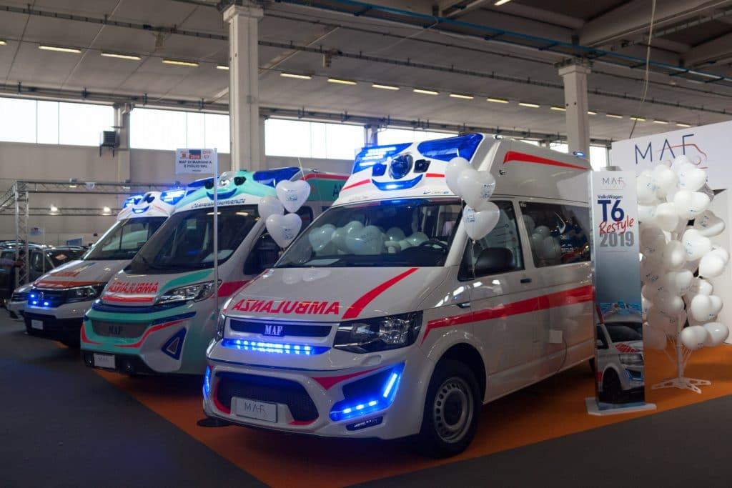 Ambulanze, cosa c'è stato di veramente nuovo a REAS? | Emergency Live 4