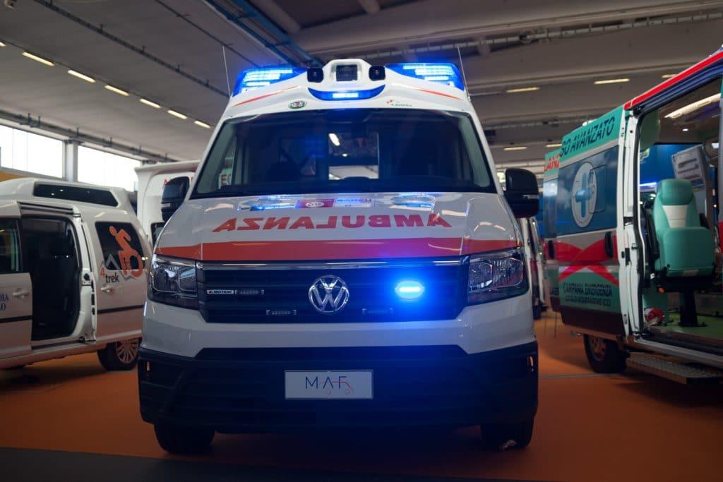 Ambulanze, cosa c'è stato di veramente nuovo a REAS? | Emergency Live 5