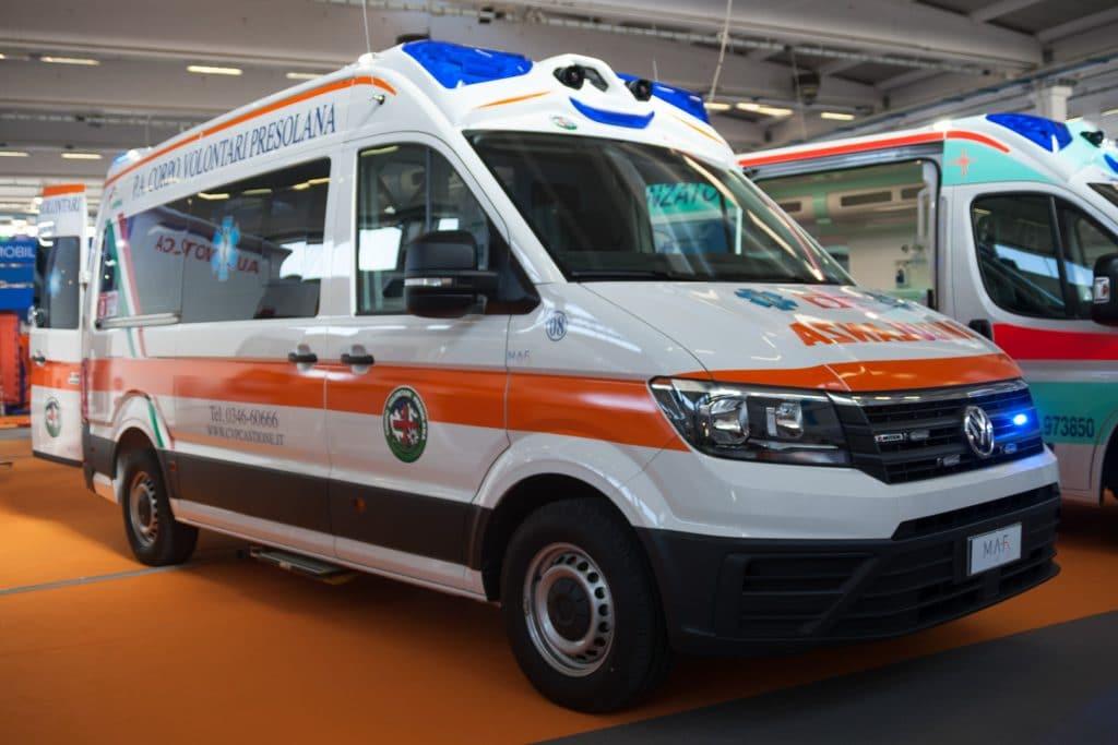 Ambulanze, cosa c'è stato di veramente nuovo a REAS? | Emergency Live 6