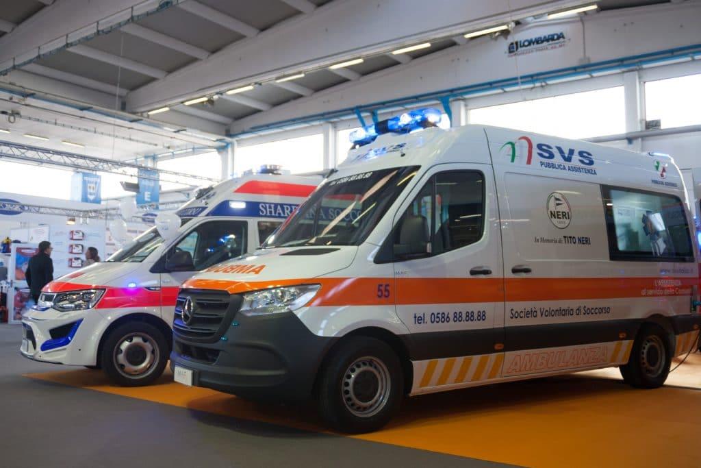 Ambulanze, cosa c'è stato di veramente nuovo a REAS? | Emergency Live 8