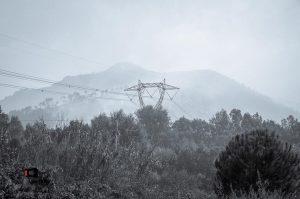 Calci, incendio del monte Serra