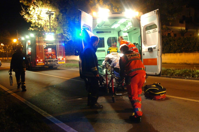 incidente stradale romea