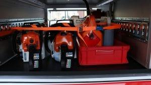 motoseghe protezione civile