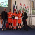 Croce Bianca Fossano premiata a Roma per il primo posto nel torneo di rianimazione cardio polmonare   Emergency Live 2