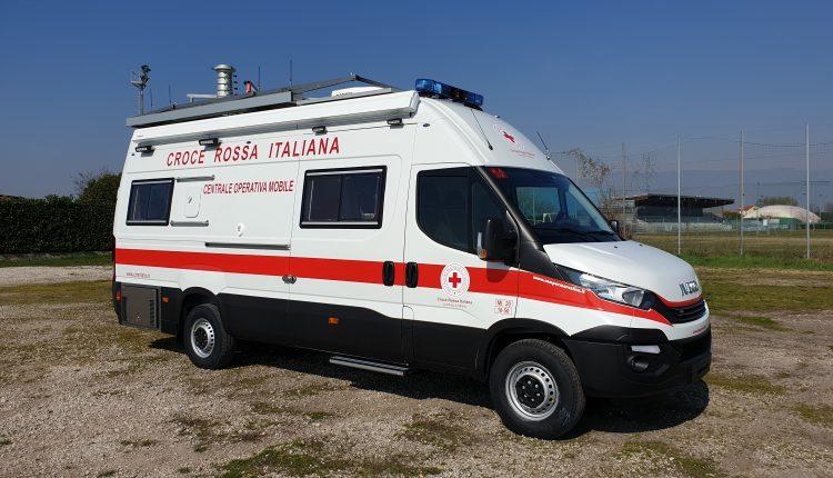 Iveco Daily Centrale Operativa Mobile CRI MILANO