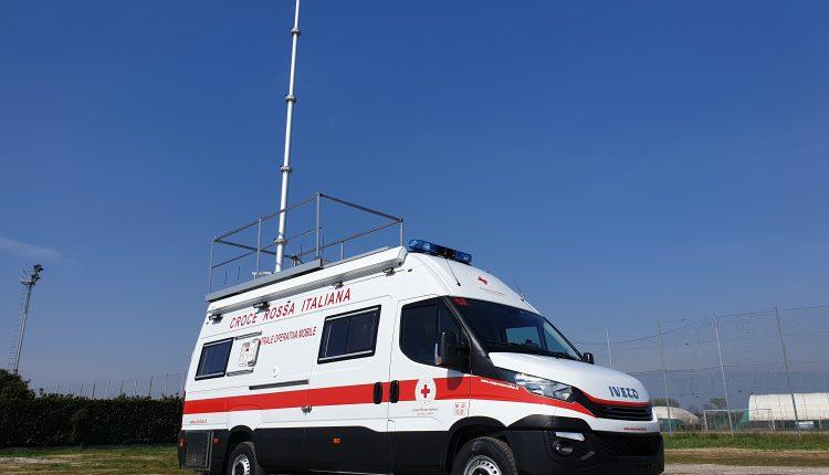 Iveco Daily Centrale Operativa Mobile CRI MILANO35