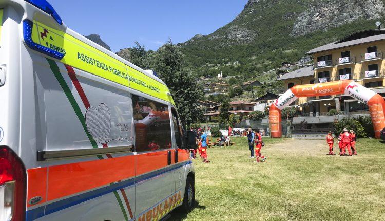 ambulanza edm borgotaro ANPAS 1
