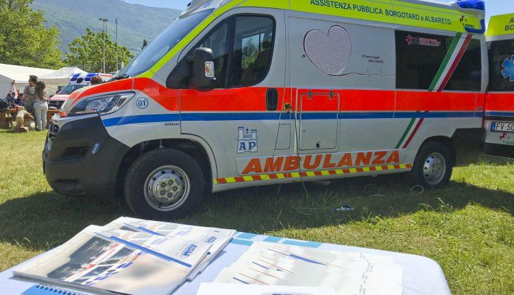 ambulanza edm borgotaro ANPAS 3