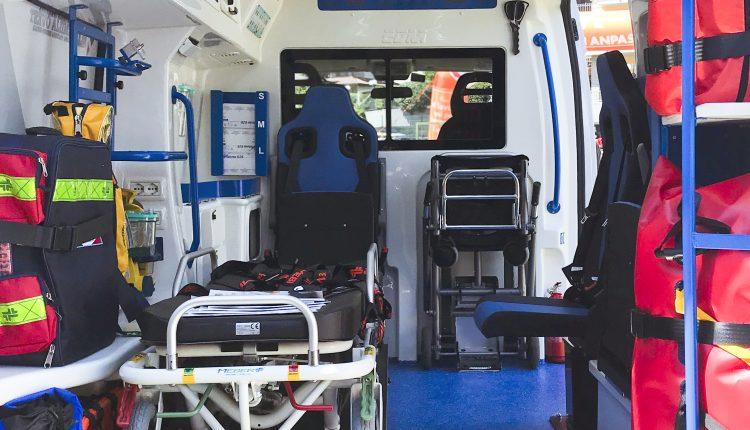 vano sanitario ambulanza edm