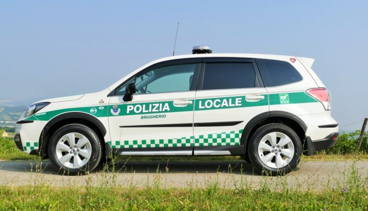 livrea Forester polizia locale