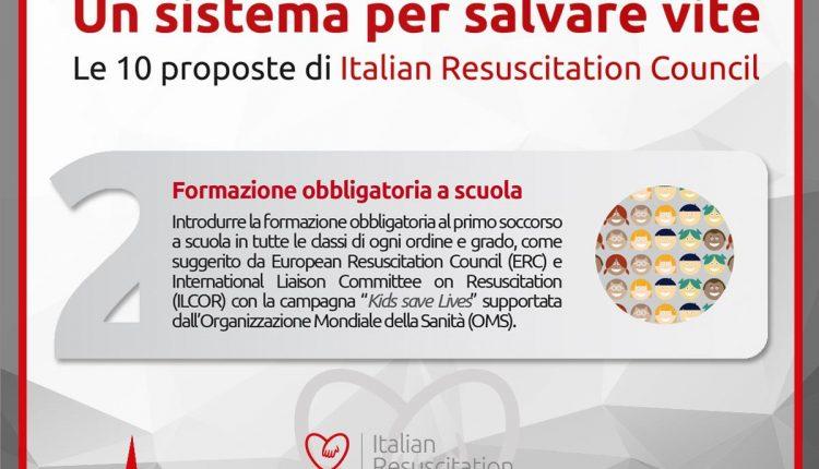 10 proposte realizzabili per salvare vite: i defibrillatori e il BLS secondo IRC | Emergency Live 2