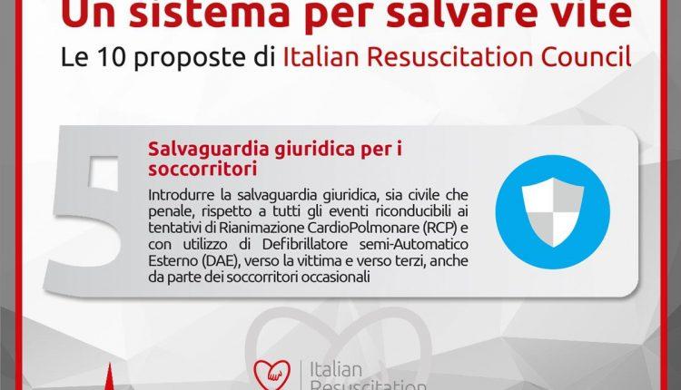 10 proposte realizzabili per salvare vite: i defibrillatori e il BLS secondo IRC | Emergency Live 5