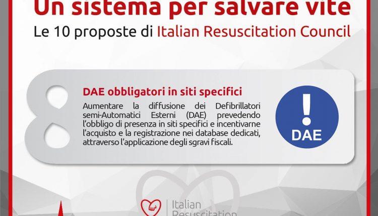 10 proposte realizzabili per salvare vite: i defibrillatori e il BLS secondo IRC | Emergency Live 10