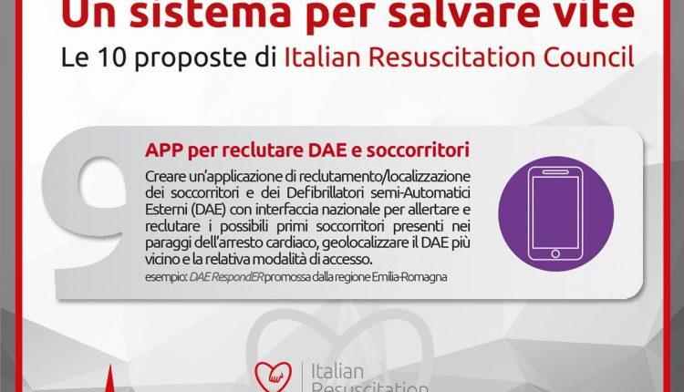10 proposte realizzabili per salvare vite: i defibrillatori e il BLS secondo IRC | Emergency Live 11