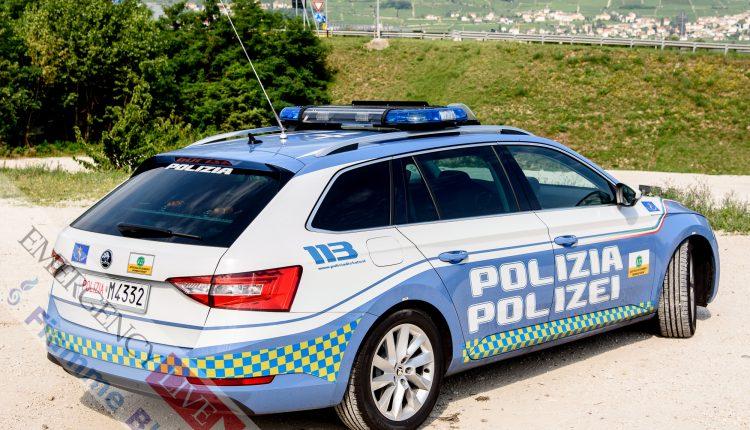 Skoda Fabia Superb Polizia Stradale A22 Brennero Modena