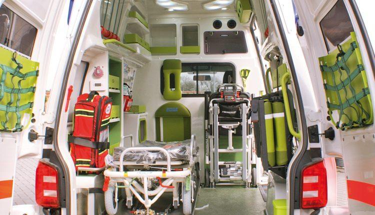 Ambulanza Volkswagen T6 EDM