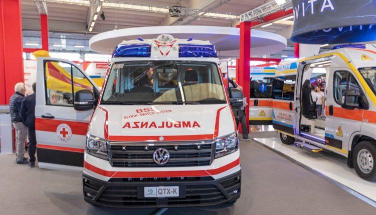 volkswagen crafter ambulanza olmedo