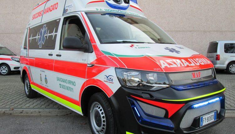 maf t6 ambulanza
