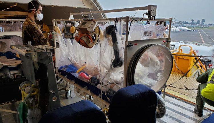 MEDEVAC, trasporto sanitario urgente dell'Aeronautica Italiana: suora rimpatriata dalla R.D. del Congo, è allo Spallanzani   Emergency Live 4
