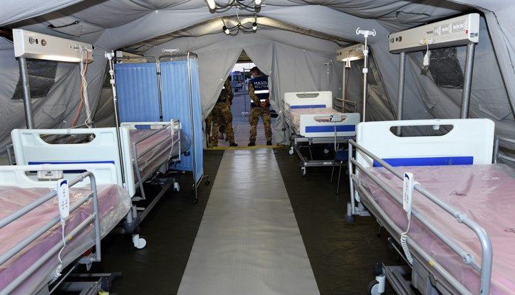 COVID-19, Posto Medico Avanzato all'Ospedale di Barletta: la Marina Militare allestisce PMA per i cittadini pugliesi | Emergency Live 5