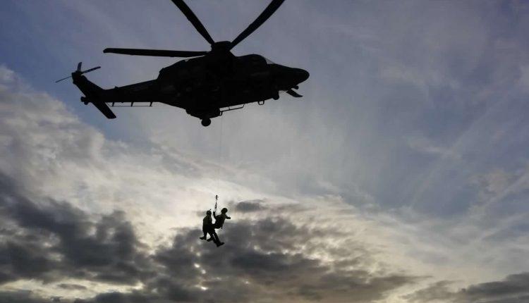 Operazioni HEMS, in Sicilia addestramento congiunto di Aeronautica Militare e Soccorso Alpino CNSAS 4