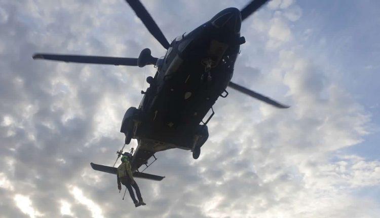 Operazioni HEMS, in Sicilia addestramento congiunto di Aeronautica Militare e Soccorso Alpino CNSAS 12
