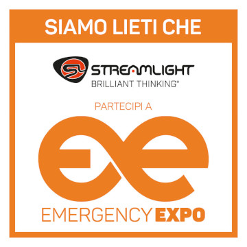 Partenaire Streamlight Emergency Expo 360 × 360