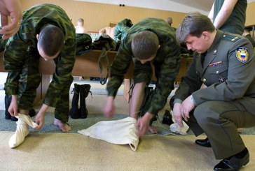 "No more ""portyanki"". After 5 centuries, the Russian army renew the equipment of their soldiers"
