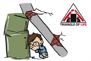 """Surviving an earthquake: the """"triangle of life"""" theory"""