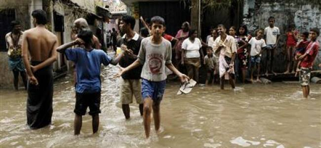 13 dead as monsoon triggers havoc in Sri Lanka capital