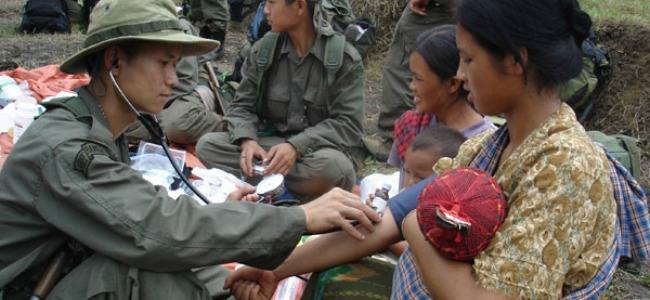 17 years of humanitarian aid missions in the war of Burma