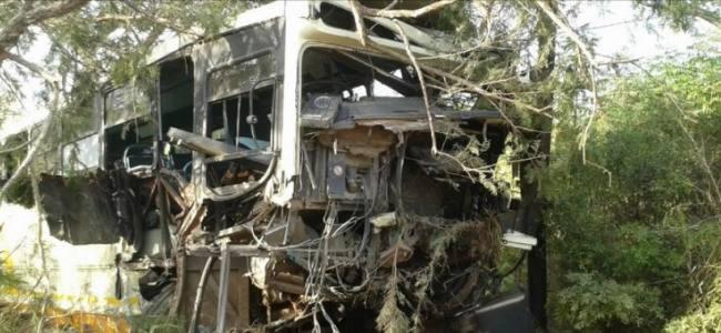 Tragic bus collision in Nelspruit