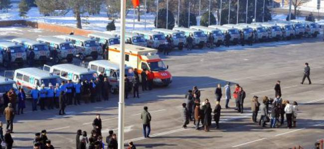 85 new ambulances in Bishkek, Kyrgyzstan