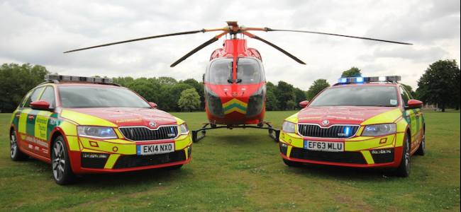 New Skoda for the London Air Ambulance