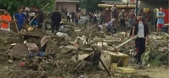 Bulgarian flash floods, EU's volounteers in action
