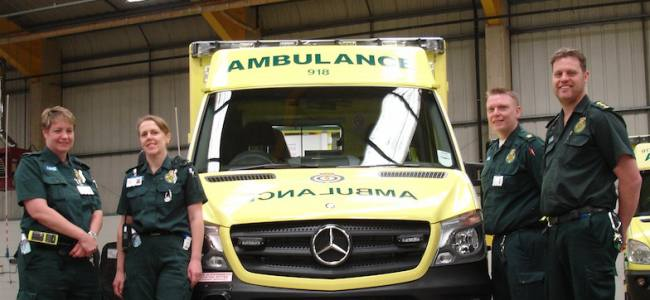 New Ambulance deliveries in East England
