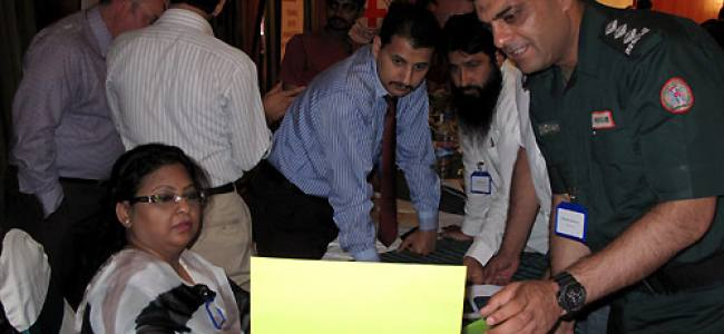 Pakistan: First responders training about dead body management