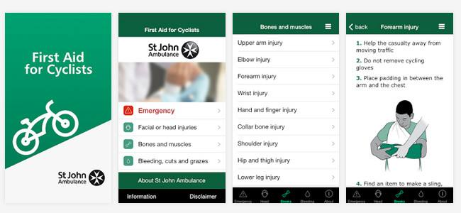 First Aid For Cyclist: St John Ambulance launches a new app