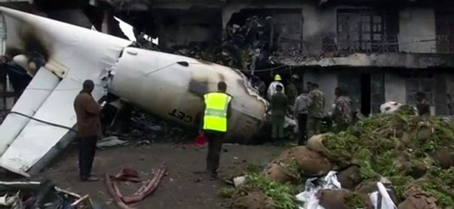 A Cargo Plane Crashes in Nairobi After Takeoff