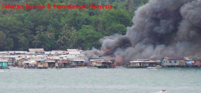Palau: Squatter colony burning after six explosions