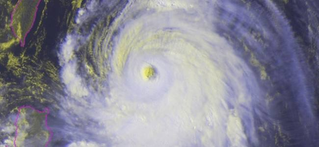 Typhoon Florita could become a super typhoon today