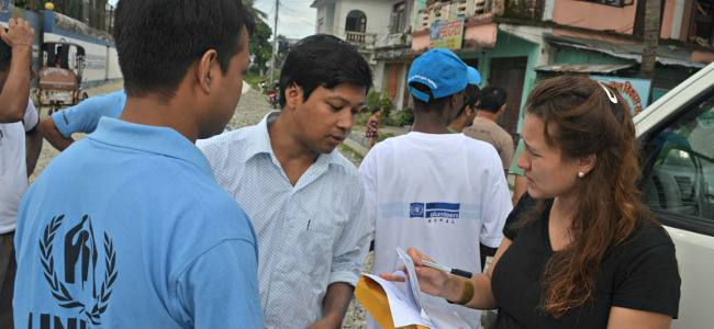 The United Nations Volunteers Program