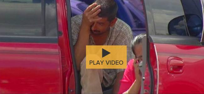 VIDEO – Good Samaritans save child locked in a Pick-up in New Mexico